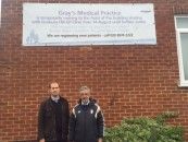 James Berry supports campaign to stop closure of Gray's Medical Practice in Chessington