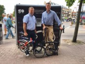 Kingston residents 'GO Cycle' on a Brompton