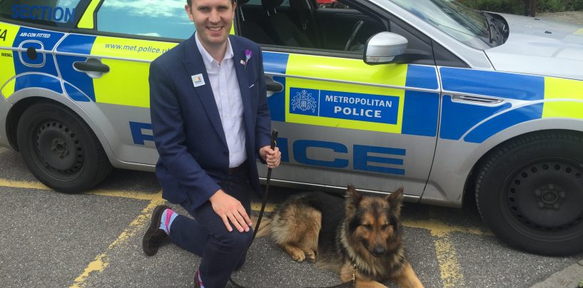 @JamesBerryMP supports greater protection for police officers