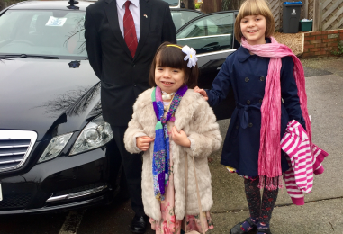 New Malden girl with rare genetic condition given 'once in a lifetime' visit to the Lord Mayor of London